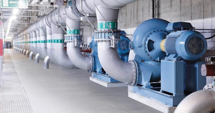 ABB Pumping applications like this are wide spread across all industries and _buildings and are a prime target for energy savings.