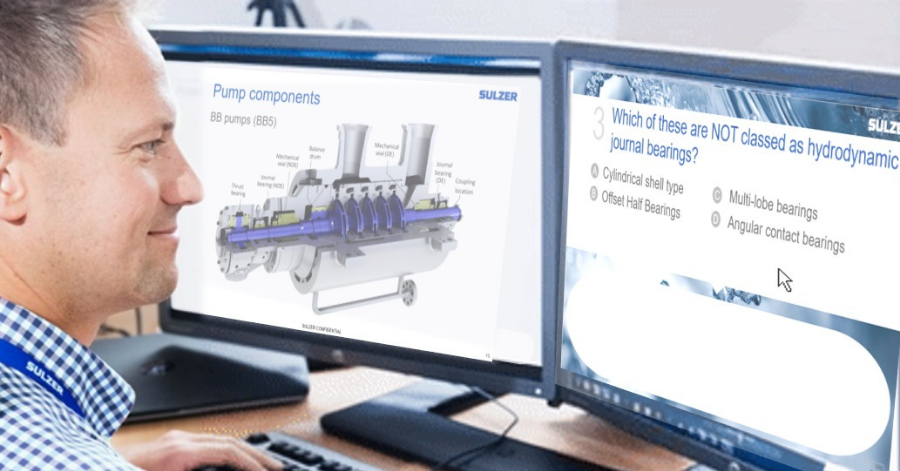 Sulzer Become a pump mastermind training courses