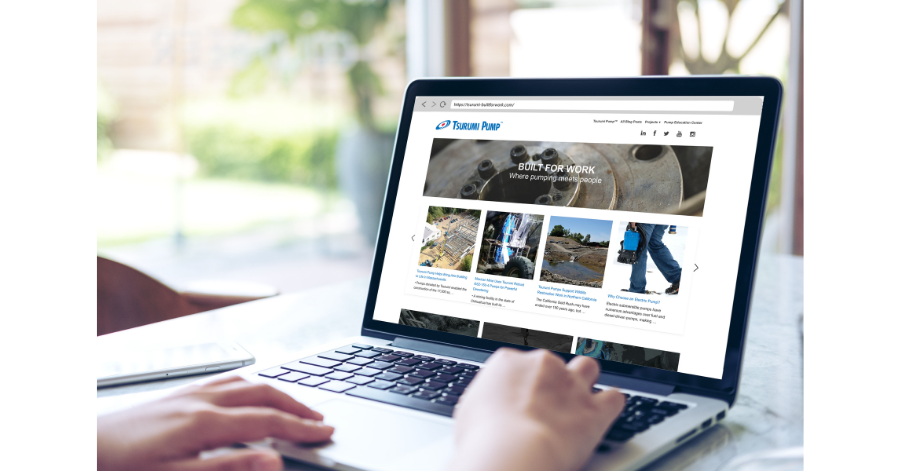 Tsurumi launches BUILT FOR WORK new content website
