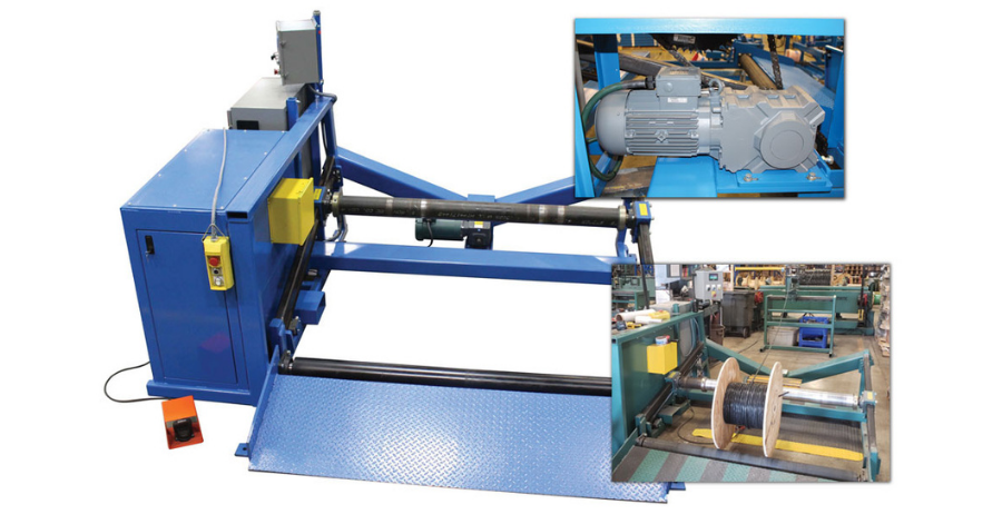 Altra Space Saving Solution For A Reel Power Manufacturer