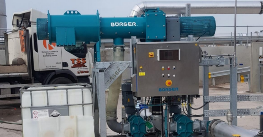 Boerger Bioselect for Separating Plastic Particles from Digestate