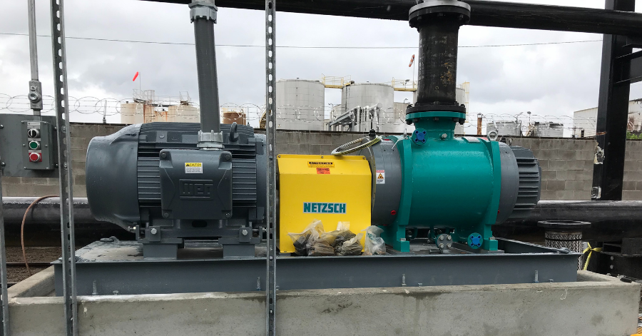 Netzsch Rail Car Unloading Solution with NOTOS® Pumps