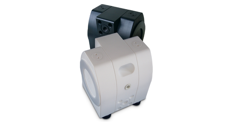 PSG Almatec ® E-Series Air-Operated Double-Diaphragm (AODD) Pumps set the standard in plastic-pump operation
