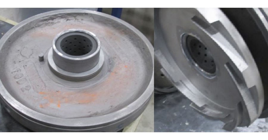 Sulzer Center bushing Perf-Seal design Vespel insert