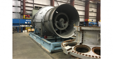 Sulzer Large industrial gas turbines require spacious and well-equipped service centers