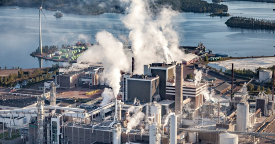 Sulzer SIL process pump perfect fit for emergency showers in pulp mill
