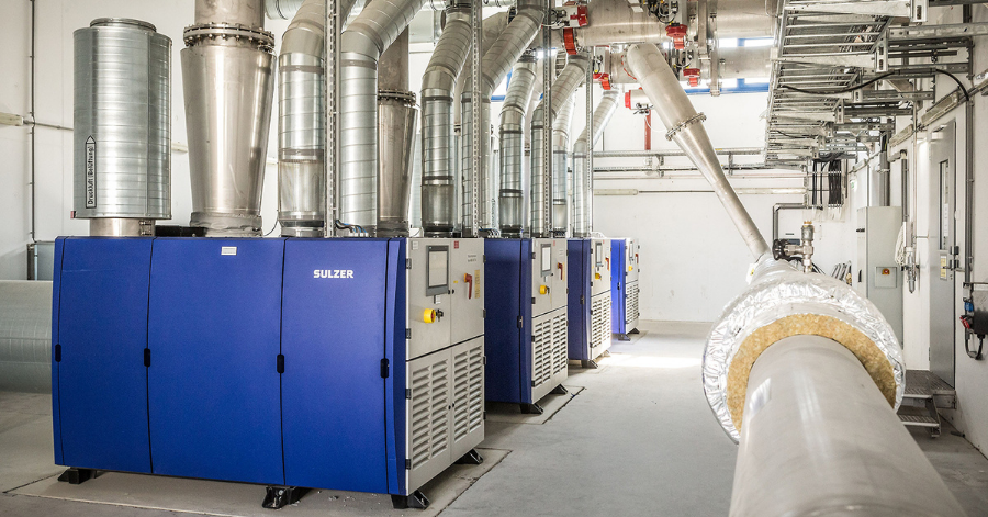 Sulzer's HST turbocompressors reduced total power consumption by 400 kW