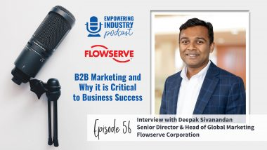 B2B marketing with Deepak Sivanandan