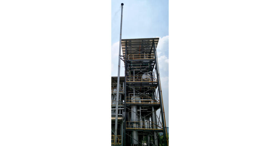 Sulzer Chemtech also supported Bremfield Sdn Bhd with basic engineering,