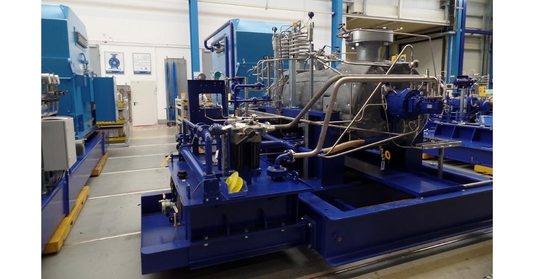 Sulzer Feedwater pump in Sulzer workshop
