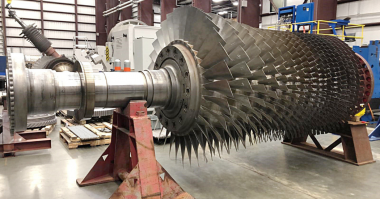Sulzer The compressor section from the spare rotor was combined with the turbine section of the failed rotor turbines