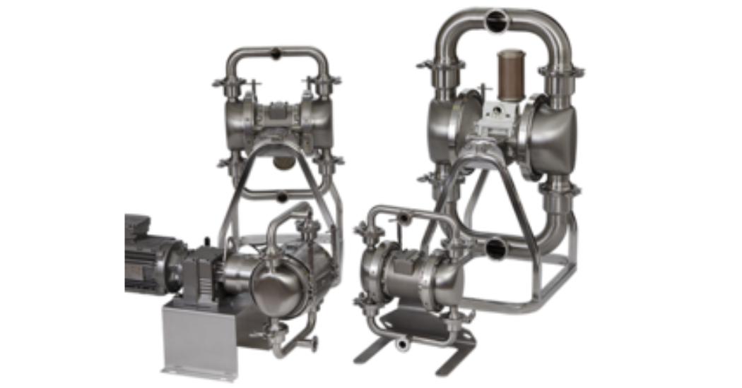 Verder double diaphragm pumps (1)