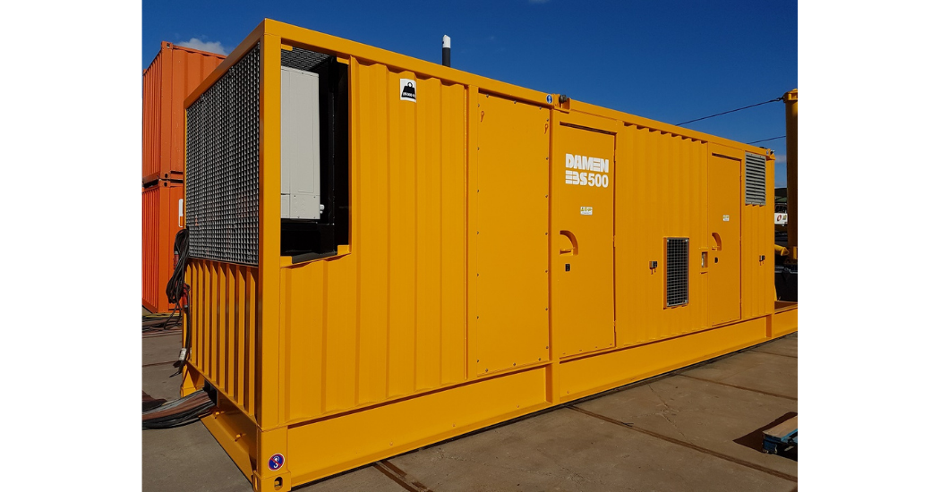 Damen delivers two electrical booster stations (2)