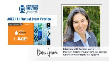 Bonus Episode: ACE21 All Virtual Event Preview With Barbara Martin