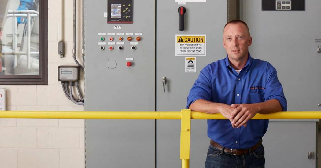 Grundfos At the Rose Creek Wastewater Treatment Plant, One Small Box Saves The Day Twice (2)