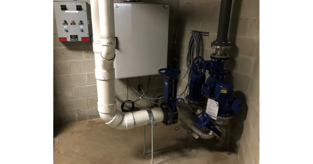 IFS OverWatchTM Direct In-Line Pumping System Solves Sewage (1)