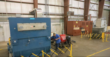 Sulzer Extra-large capacity high-voltage motor test center on the US Gulf Coast unveiled