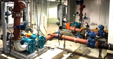 Boerger Rotary Lobe Pumps save time and costs wastewater treatment plants