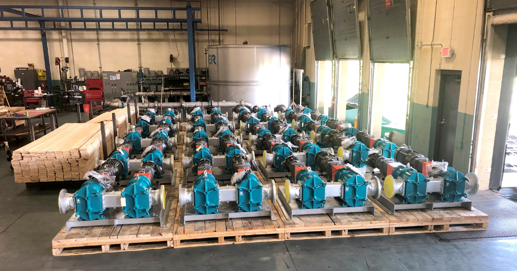 Boerger Rotary Lobe Pumps save time and costs (1)