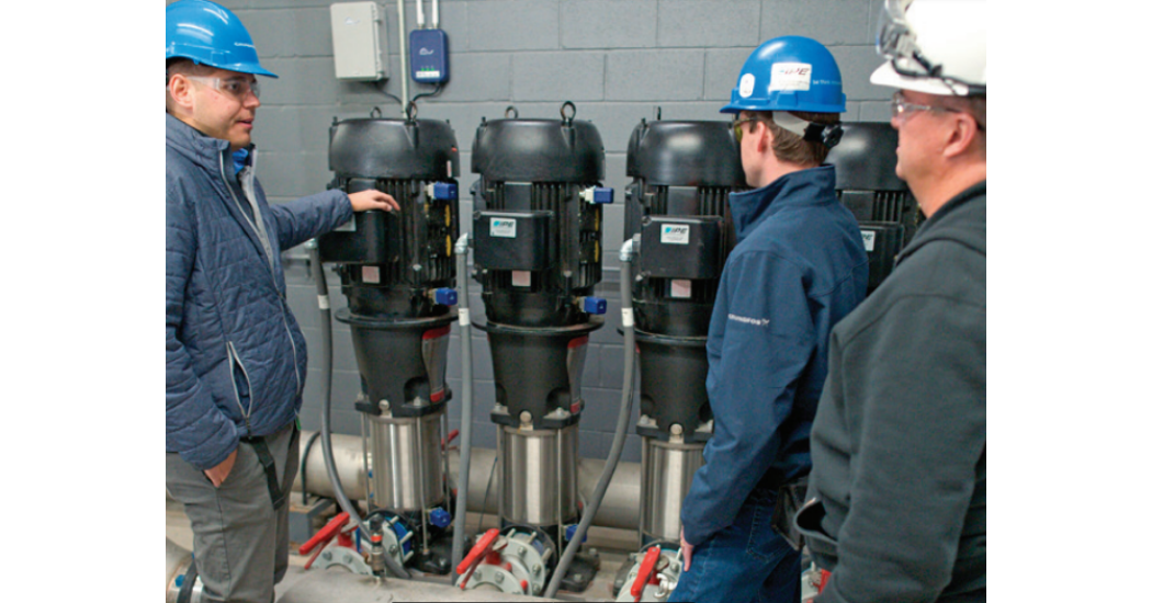 Grundfos CR 95 Pumps Increase Efficiency And Reduce Downtime For Chemical Plant
