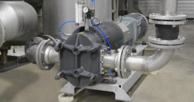 Boerger Pump for conveying C starch