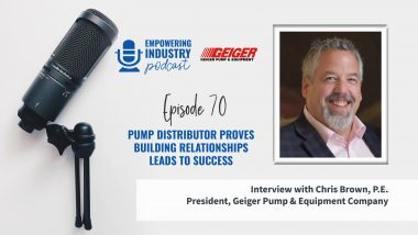 Pump Distributor Proves Building Relationships Leads to Success With Chris Brown