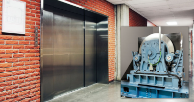 Altra Braking System Solution For Commercial Building Freight Elevator