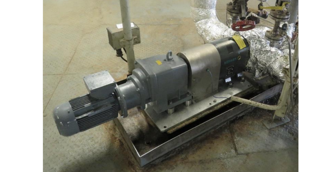Boerger Pump for conveying melt in the production process of plant protection products (1)