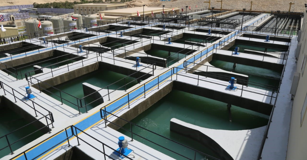 Sulzer High efficiency pumps play a central role in Egypt's Al Mahsama agricultural drainage (1)