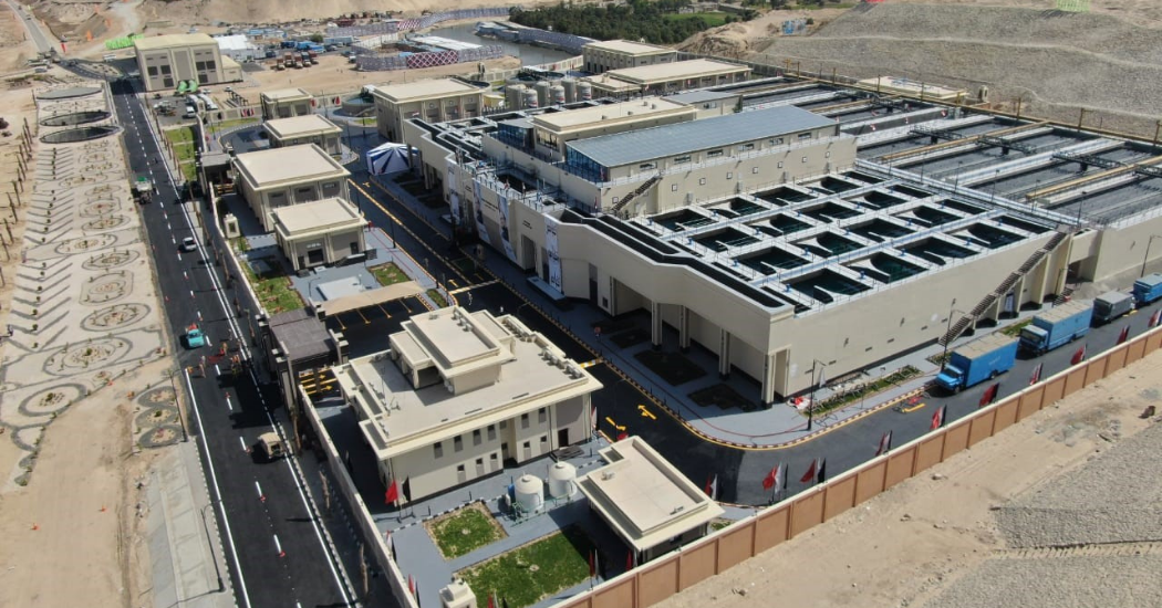 Sulzer High efficiency pumps play a central role in Egypt's Al Mahsama agricultural drainage (2)