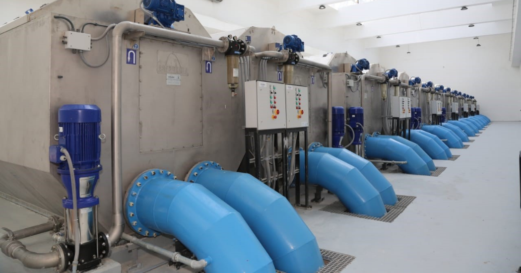 Sulzer High efficiency pumps play a central role in Egypt's Al Mahsama agricultural drainage water treatment facility