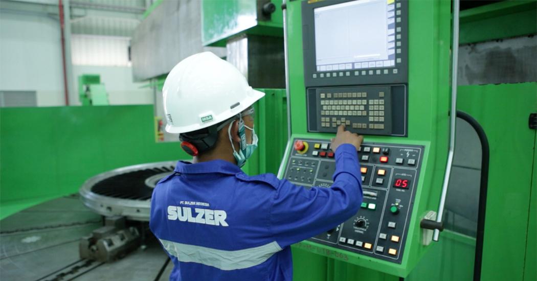 Sulzer New 'Big-Bay-2' workshop opening