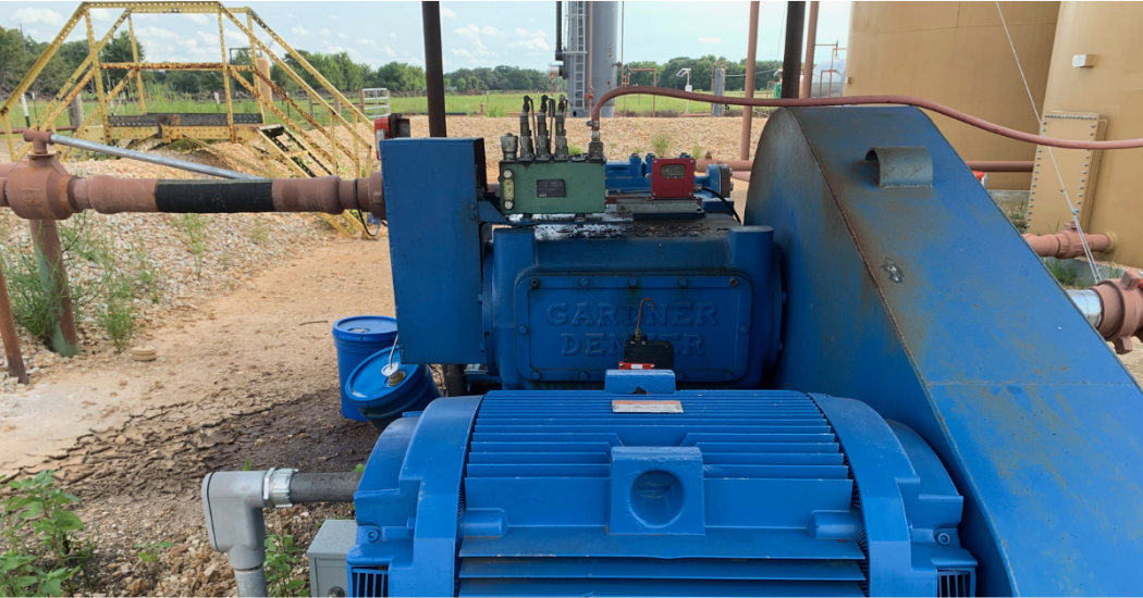 Triangle Pump 10 TIPS TO IMPROVE OPERATIONS OF A SALT WATER DISPOSAL PUMP