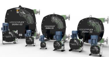 Verder Verderflex Dura Hose Pumps Certified to NSF61