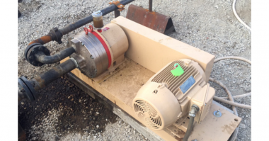 Wanner Hydra-Cell® Corrects Sump Pit Service Problems at an Oil Field