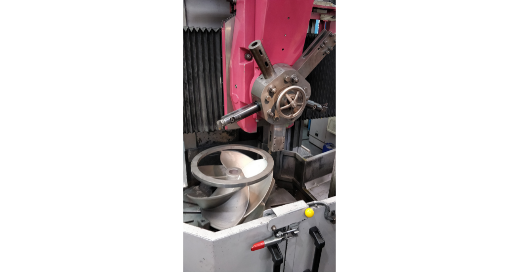 Advanced manufacturing keeps power plant online cooling water pump