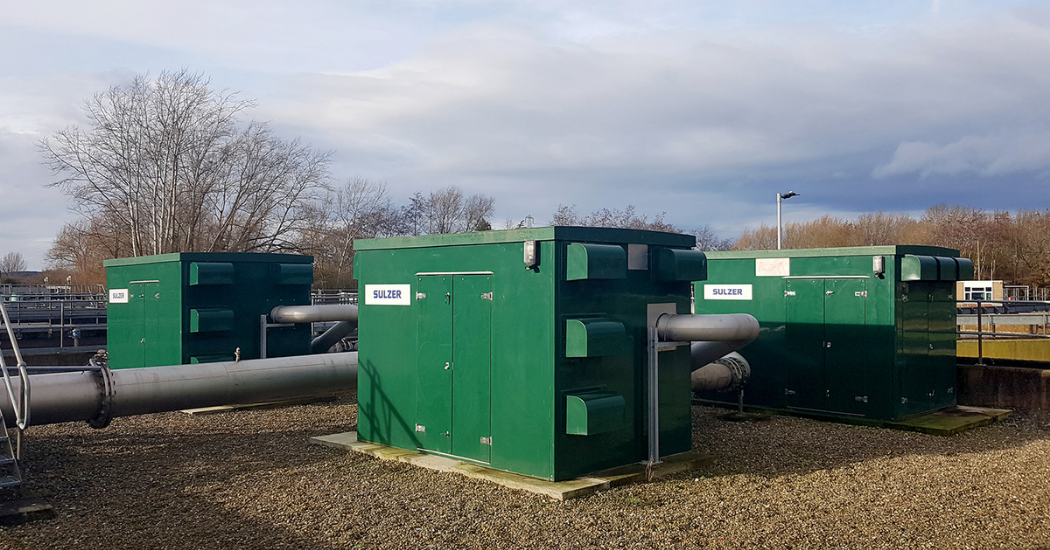 Sulzer HST turbocompressors provide substantial OPEX savings for UK Water Company